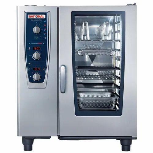 19 Kw Rational CombiMaster Plus Combi Oven, Capacity: 10 X 1/1 Gn