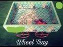 Decorative Wheel Tray, For Restaurant