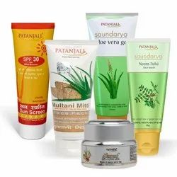 Natural Patanjali Cosmetics, For Beauty Purpose, Good Skin, Type Of Packaging: Tube