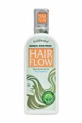 Goldwater India Men and Women Hair Flow Herbal Shampoo, Pack Size: 200ml