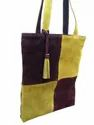 Suede Leather Executive Tote Bag