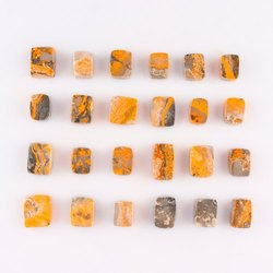 Bumblebee Jasper Gemstone Beads