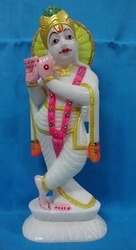 Marble Beautiful Krishna Statue