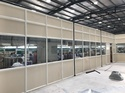 Aluminium Warehouse Partitions