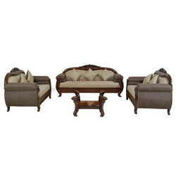 Teak Wood Dutch Sofa Set