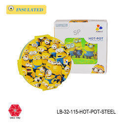 Steel Insulated Lunch Box for Kids(Hot-Pot)-LB-32