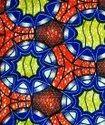 Multicolor African Dashiki Cotton Suit Fabric