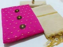 Zari Work Dress Materials