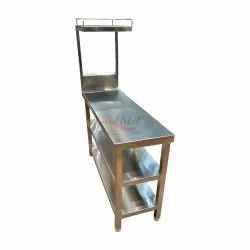 S.s. Work Table With Over Shelves, 1 Year, Size: 22x32x34