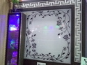 Multicolor Lacquered Glass With Design