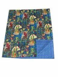 Indian Handmade Cotton Kantha Work Gudari