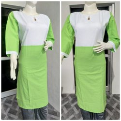 Strigth Cotton Kurti