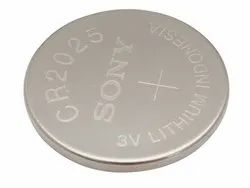 Sony CR 2025 Lithium Coin Cell Battery