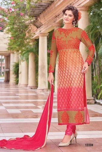 6b5466ed67 Rose Fiza Vol-3 Wholesale Straight Long Salwar Suits at Rs 699 ...