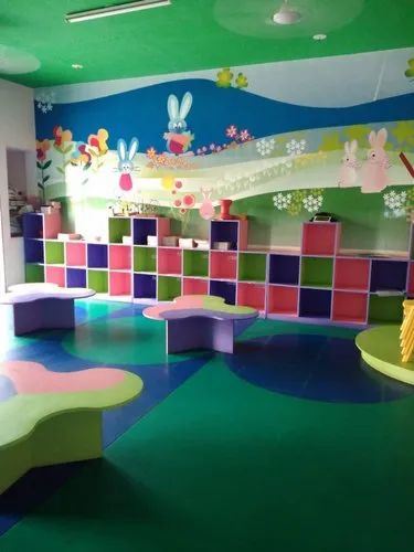 Krayons PVC Flooring For School