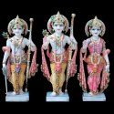Marble Mandir Ram Darbar Murti