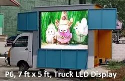 Advertising Vehicle Display Board