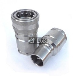 Through Type Quick Release Coupling, Size: 1 Inch