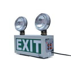 Emergency Exit light With Halogen