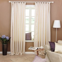 Printed Bedroom Window Curtains