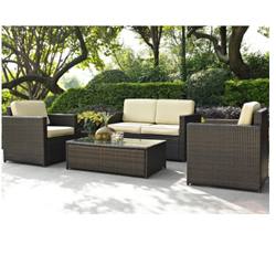 Outdoor Garden Rattan Sofa Set
