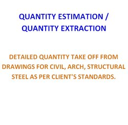 Accounting Of Quantities Quantity Calculation & Estimation