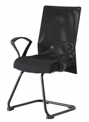 Black Visitor Chair