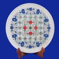 Unique Marble Inlay Decorative Plates