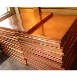 Square Copper Earthing Plate
