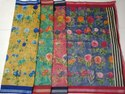 Ladies Chanderi Printed Silk Saree