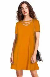 Exclusive Designer Beige Dress