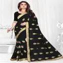 Heavy Embroidered Work Saree