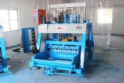 876 Triple Vibrator Concrete Block Making Machine