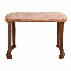 Rectangular Plastic Table
