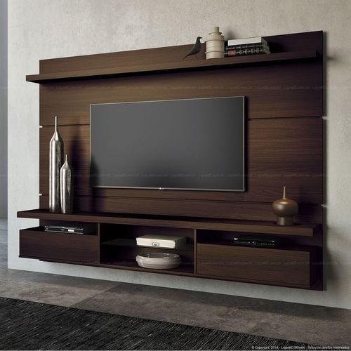 wood wall mounted tv units rs 35000 number decor in designs rh m indiamart com tv units design for living room tv units design for hall
