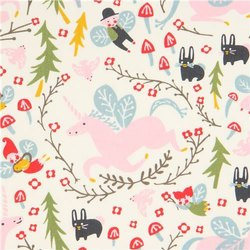 100% Organic Cotton Poplin Printed Fabric