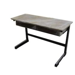 Wood and Iron School Desk