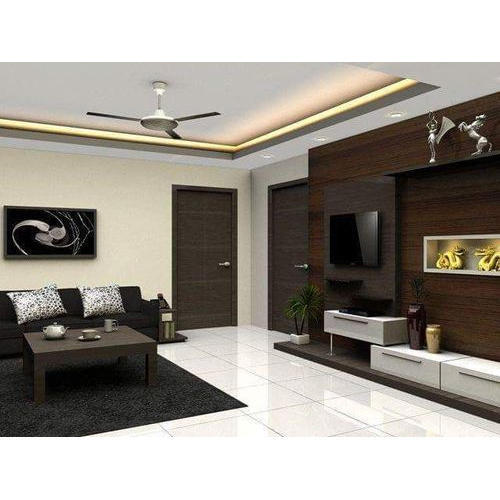 Classic Living Room Designing Service in Sector 16 ...