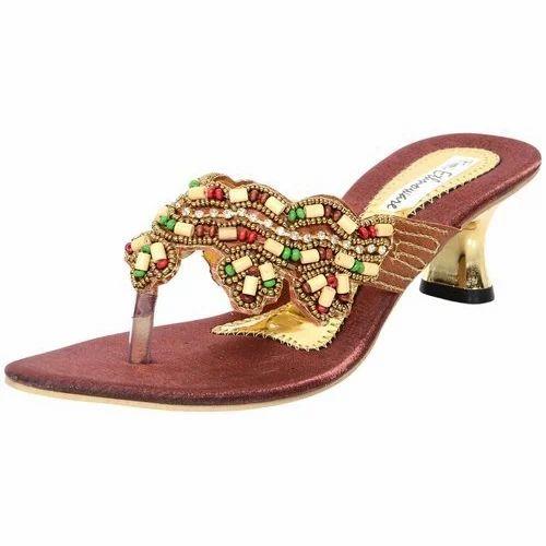 c921e93908e3 Ethnoware Women Fancy Embroidered Sandals