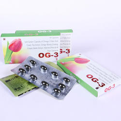 Omega-3 Fatty Acid, Green Tea Extract Tablet