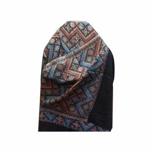 Kshitiz Textiles Embroidery Ladies Viscose Stole, Rs 400 ...