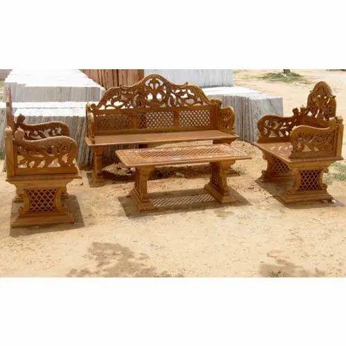 Brown Stone Artifacts Furniture