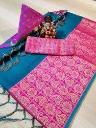 Doriya silk saree
