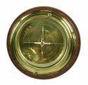 Wooden Base Ship Compass