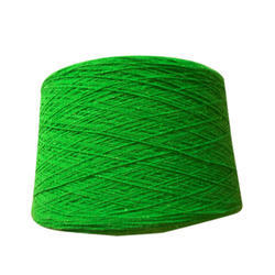 Green Wool Yarn
