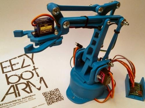 graphic relating to 3d Printable Robot titled 3d Released Robot Arm For College students