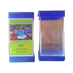 Acrylic Education Donation Box