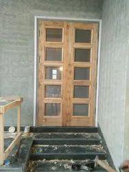 Wooden Decorative Jali Door