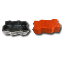 Zigzag Small Check Paver Blocks Rubber Mould