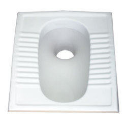 White Indian Toilet Seat